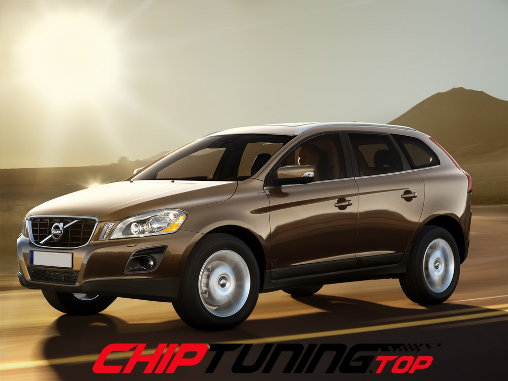 CHIPTUNING – Volvo XC 60  –  2.0 D3 150KM (TWIN TURBO) –  2016->
