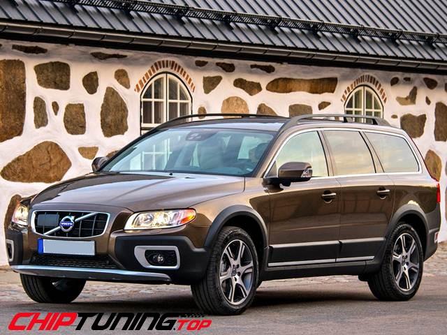 CHIPTUNING – Volvo XC 70  –  2.4 D4  181 KM –  2012->