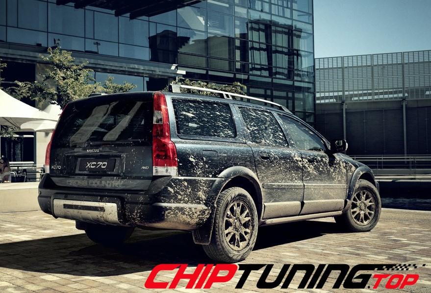 CHIPTUNING – Volvo XC 70 –  2.4 T 200 KM – 2000->2007