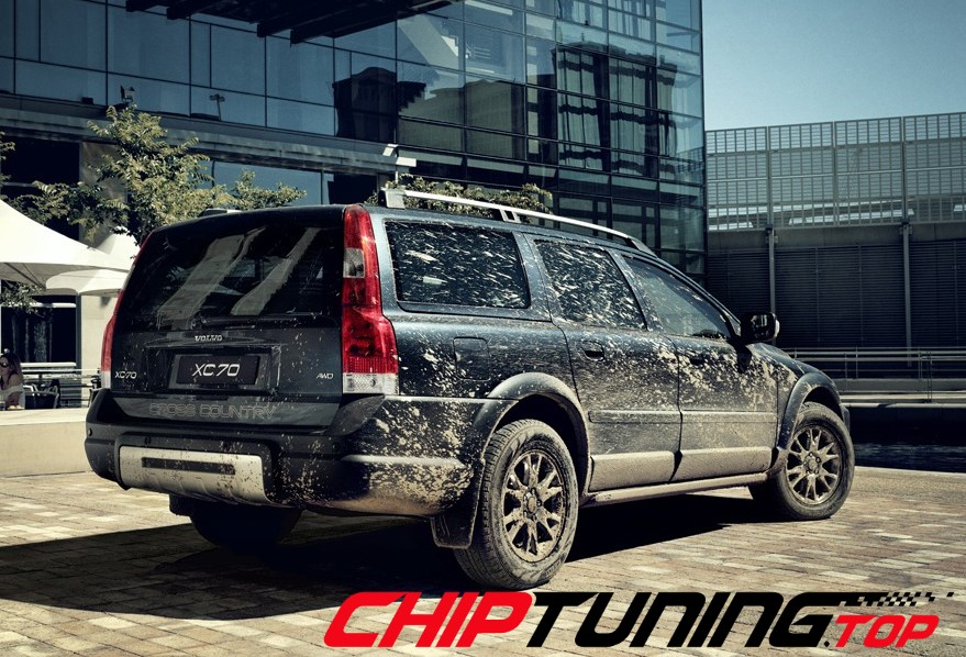 CHIPTUNING – Volvo XC 70 –  2.4 140 KM – 1999->2007