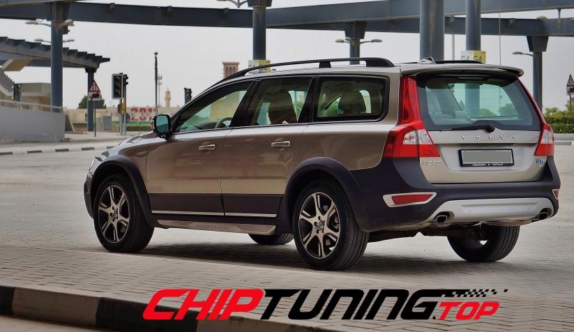 CHIPTUNING – Volvo XC 70  –  2.4 D5  215 KM –  2007->2011