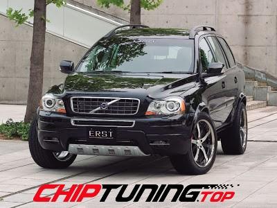 CHIPTUNING – Volvo XC 90 –  2.5 T 210 KM – 09/2003->04/2006
