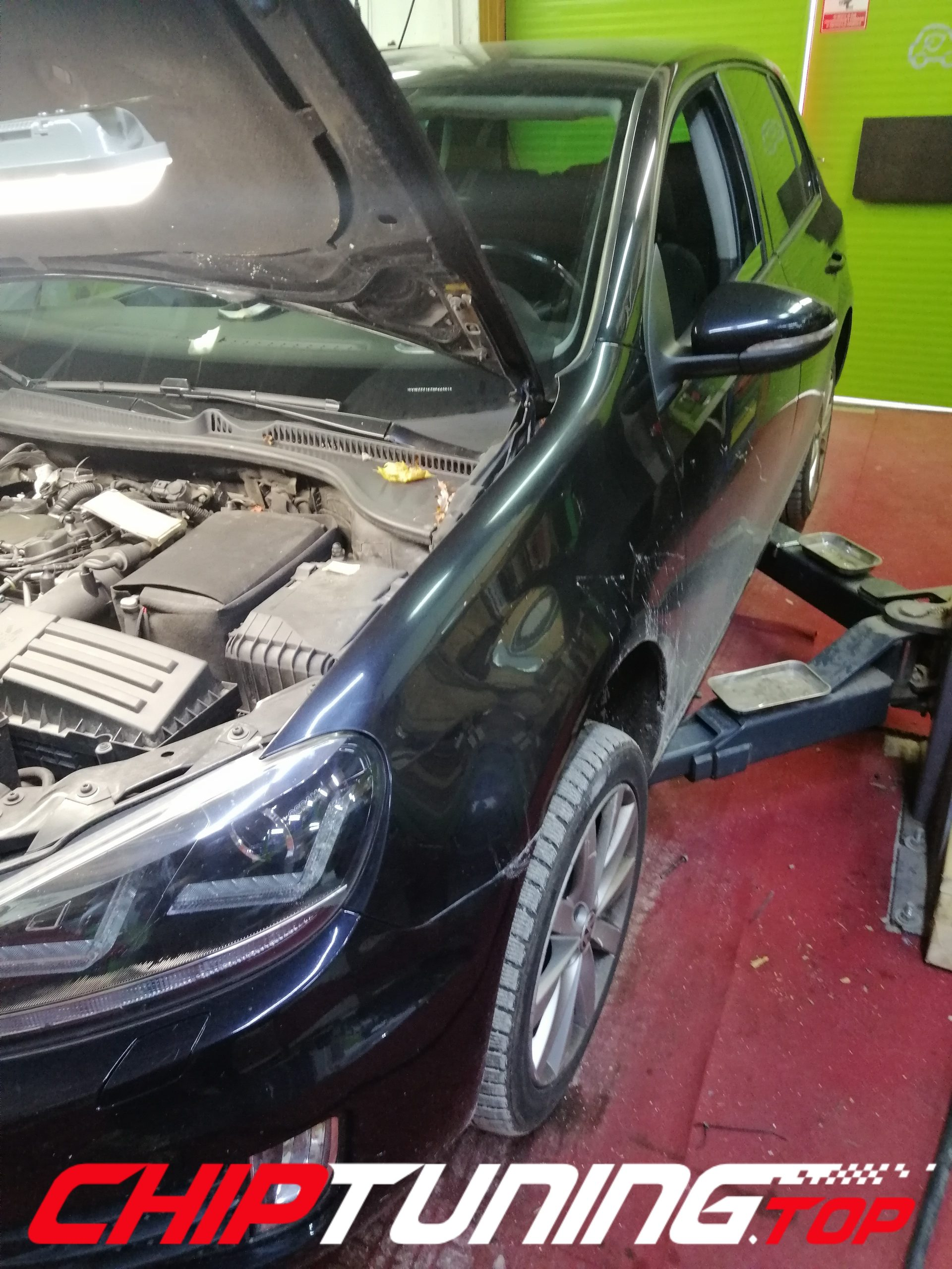 CHIP TUNING VW GOLF 6 2.0 TDI 140KM
