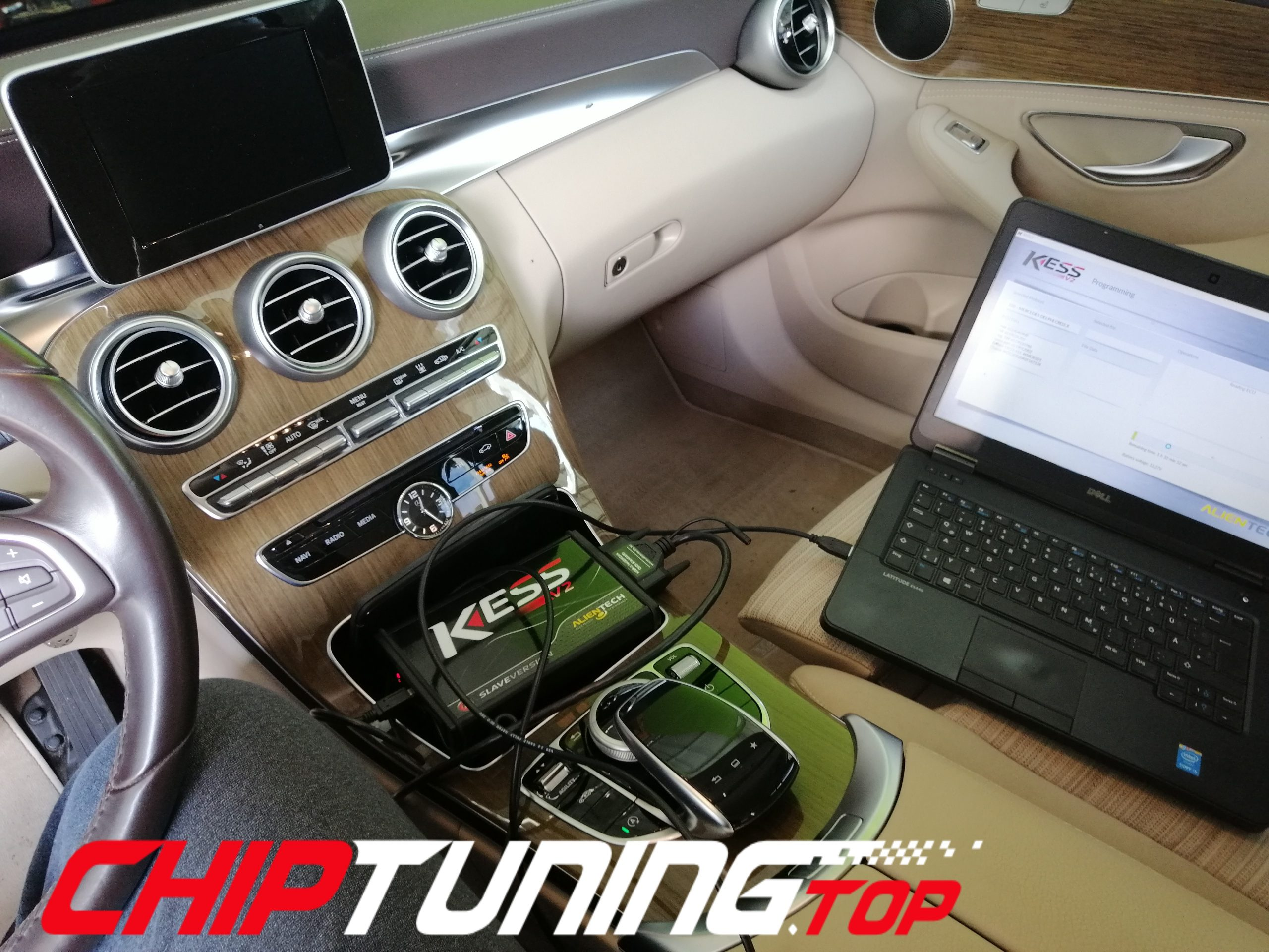 CHIP TUNING Mercedes C 220 CDI 170KM